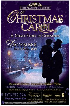 A review of the show a christmas carol staged at the hale center theater in orem