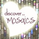 Mosaics with children blog posts at ::glittering shards::