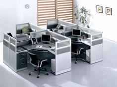 modular office cubicle furniture ideas | office design | pinterest