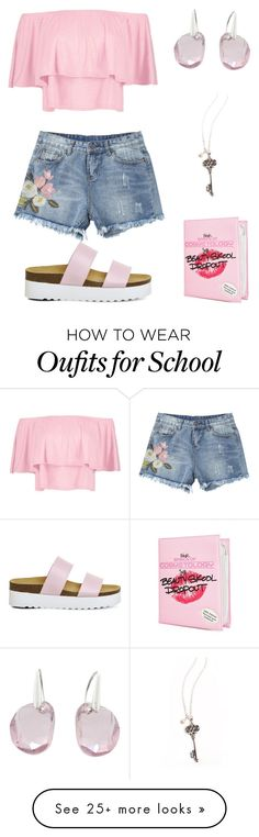 """""""Beauty school dropout"""" by bailey2k on Polyvore featuring Boohoo, Office, Swarovski and Sugarbaby"""