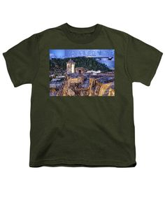 Youth T-Shirt - La Popa Hill Convent And Saint Philip Castle, Cartagena Colombia