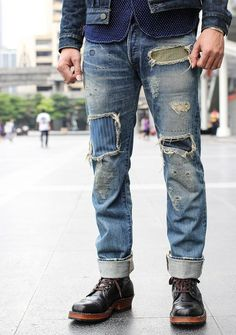 Patch work #fashion #menswear #menfashion #style #streetstyle #menstrend #fashionista
