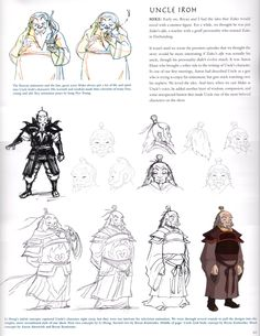 Uncle Iroh Concept Art (Avatar)