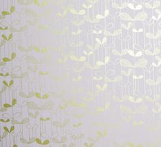 Saplings in White with Gold via Miss Print