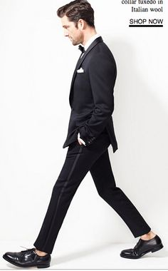 J. Crew slim tuxedo pants!  So cute!