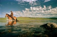 Mongolia Horse and Water