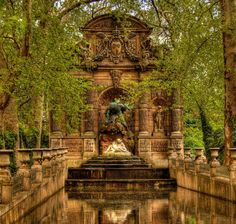 Luxembourg Garden. Paris, France.