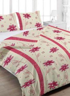 Grasshopper Obliečka Bavlna  Anežka červená 140x200