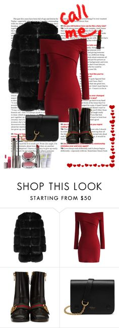 """""""Short Dresses is Winter"""" by shoenique ❤ liked on Polyvore featuring Givenchy, Chicwish, Gucci, Mulberry and Juice Beauty"""