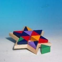 Star of David Wood Puzzle