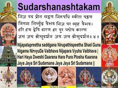 Slokas I Enjoyed on Sri Sudarshana - Sudarshanashtakam-4.