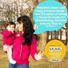"We won ! We have a GIVEAWAY and DISCOUNT code to celebrate !  We are over the moon that our breastfeeding hoodie won GOLD in the @madeformums awards !  The judges said ""a comfortable hoodie is often the go-to for busy mothers so to have it in a breastfeeding design makes a practical and cosy winner...... the shape and colours of the Stylish Mum hoodie are flatting and fun and the access for baby won over our home testers- they loved the discreet breastfeeding it allowed"" To celebrate we have… Over The Moon, Judges, Cosy, Breastfeeding, Mothers, Giveaway, Awards, Colours, Shape"