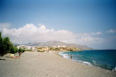 A nice wide view of Kalamokania beach at Makrigialos, South Crete. Crete, Seaside, Beaches, In This Moment, Explore, Nice, Water, Outdoor, Beautiful
