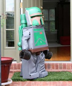 A kids' dream: putting a Lego spin on a cult favorite Star Wars character (Boba Fett, a bounty hunte... - Mom.me