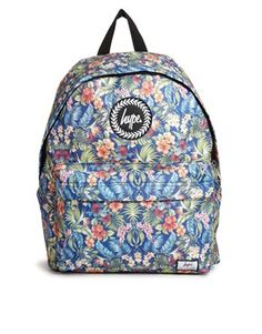 Buy Hype Floral Backpack at ASOS. Get the latest trends with ASOS now. Floral Backpack, Backpack Bags, Fashion Backpack, Hype Bags, Fashion Editor, Fashion Trends, College Bags, Asos Fashion, Date Night Dresses