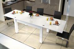 Stół Argon - Hubertus meble - Biały