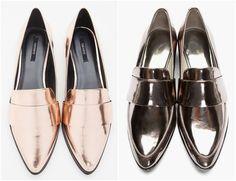 Os tecidos metalizados estão dominando a moda esse ano, aparecendo em sapatos e roupas principalmente nas coleções Primavera/Verão. O metalizado dá um tchan na produção, e pode ser usado tranquilamente durante o dia se combinado com as peças certas. Sapatos Os…
