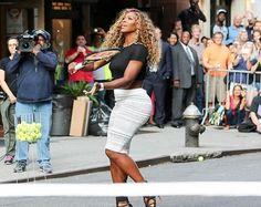 Serena Williams smashes window on David Letterman show [VIDEO]