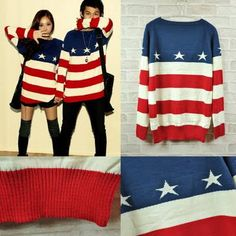 american flag sweater - Google Search