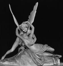 Cupid and Psyche, Antonio Canova Escultor Italiano (Neoclassicismo) Eros And Psyche, Art For Art Sake, Cupid, Les Oeuvres, Art History, Renaissance, Sculpting, Art Photography, Digital Photography