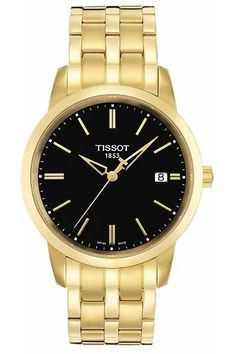 Maybe you'd love a little more GOLD in your life! The Tissot Classic Dream is just that, a dream of a watch! With a timeless face design and striking contrast this watch would look great on anyone's wrist! Let these magnificent classic watches inspire you to live your dreams to the fullest with their fine hands shaped as rising stars. These timepieces were born to become icons with their everlasting appeal and style.  www.gembycarati.com www.facebook.com/gembycarati