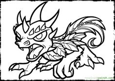 1000 images about skylanders coloring pages on pinterest | skylanders, skylanders swap force