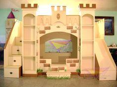 kidsworld.2000@yahoo.com.mx, 01442 690 48 41... CASTILLO UNISEX, CON UN PERFECTO EQUILIBRIO DE COLORES NEUTRALES PARA QUE AMBOS LO DISFRUTEN AL MÁXIMO, MANDARLOS A DORMIR YA NO SERA UN PROBLEMA. #castillo #unisex #literas unisex #recamaras para niños