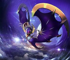 Lunala.. the first ever legendary that I caught (I have Zygarde but that doesn't count)