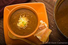 Smoky Black Bean Pumpkin Soup