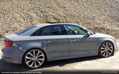 Nardo Grey Audi A3 Sedan