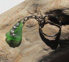 Sea Glass Keychain w/ Mermaid accent, Keychain by KreationsfromKaos on Etsy Handmade Jewelry, Unique Jewelry, Handmade Gifts, Sea Glass, Cuff Bracelets, Mermaid, Etsy, Vintage, Kid Craft Gifts
