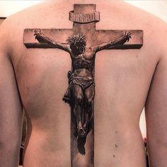 Pics Photos - Tattoos So Realistic Crucified Jesus Tattoo On Forearm Faith Tattoos, Bible Tattoos, God Tattoos, Forearm Tattoos, Body Art Tattoos, Tattoos For Guys, Jesus Tattoo, Jesus On Cross Tattoo, Cross Tattoo For Men