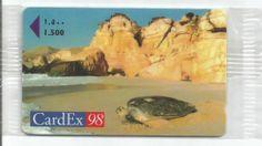 Oman:Special card : Cardex 98 :Turtles in Oman: Mint in original packing unused