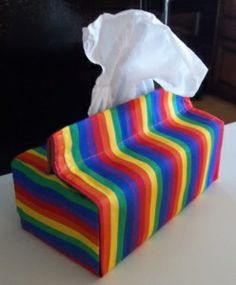 Free tissue box cover patterns and tutorials for making three sizes of tissue box covers. Velcro strips for easy fitting. Make gifts for Mom, teachers and friends. Choose fabric prints for each. Tissue Box Covers, Tissue Box Holder, Tissue Boxes, Kleenex Box, Tissue Box Crafts, Trending Crafts, Best Teacher Gifts, Small Sewing Projects, Diy Projects