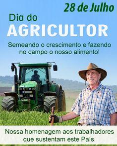 Dia do agricultor: um abraço ao braço forte do Brasil!