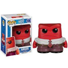 Disney Inside Out Anger Pop! Vinyl Figure Merchandise   Pop In A Box US