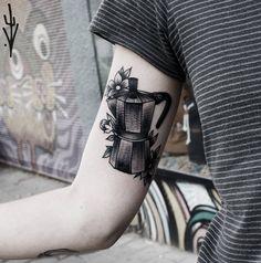 Para los más estilosos. | 26 Delicados tatuajes que te vas a querer hacer si amas el café