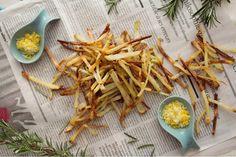 Fries with lemon salt & rosemary #borrowedlight #rockmystyle