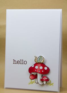 Creative Inspirations: JayGee's Nook - Hello