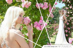 bride | Braut | Rosen | rosegarden | fairytale | princess | blond | wedding