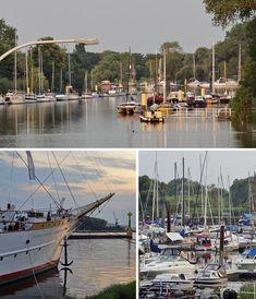 Maritimes Bremen an der Lesummündung