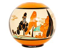 Get a Valuation of Clarice Cliff or Art Deco Ceramics and Pottery from the Experts Clarice Cliff, Modern Art Deco, Applique Designs, Vases, Decorative Bowls, Globe, Arts And Crafts, Pottery, Ceramics