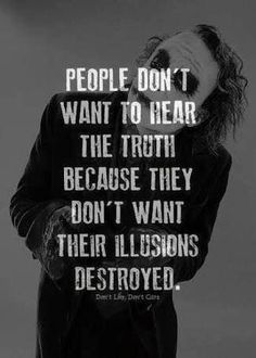 Wise words of the joker! Wise Quotes, Attitude Quotes, Mood Quotes, Great Quotes, Quotes To Live By, Positive Quotes, Funny Quotes, Inspirational Quotes, Crazy Quotes