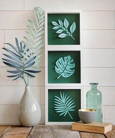 tropical home decor Tropical Home Decor, Tropical Houses, Tropical Furniture, Diy Wall Art, Diy Wall Decor, Room Decor, 3d Laser Printer, Do It Yourself Inspiration, Deco Nature