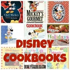 We've put together a great list of our favorite Disney cookbooks to make tackling your Christmas shopping list just a little easier! Disney Inspired Food, Disney Food, Disney Recipes, Disney Stuff, Walt Disney, Disney Magic, Disney Drinks, Disney Parties, Disneyland Food