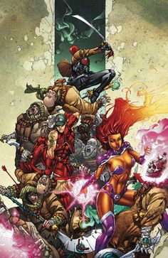 Kenneth Rocafort - Red Hood and the Outlaws