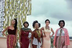"""A 'Sex and the City' for African Viewers: """"An African City,"""" the steamy Ghanaian web series about five young women looking for love, becomes a critique of both Western and African cultures."""