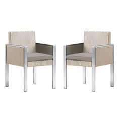Deandra Outdoor Dining Arm Chair