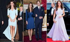 According to Colour Analysts the Duchess of Cambridge has 'summer' colouring and should wear grey, burgundy and French navy - in short anything that has a blue tint to it.