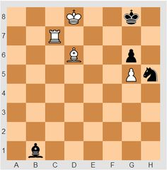Chess Endgame Puzzle of The Day (difficulty: hard). You play white and white is in the move. Try it against engine on http://chessendgames.com/EndgameOfTheDay.aspx #chess